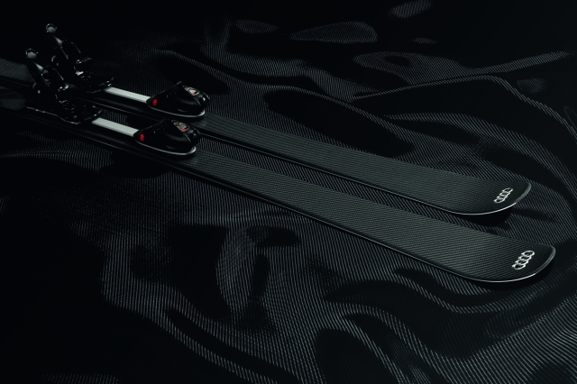 The Audi Carbon Ski Concept on Carbon Cover